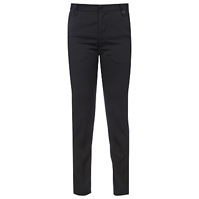 Yanny London Cigarette Trousers, Black