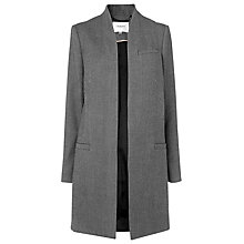 Buy L.K. Bennett Bels Herringbone Jacket, Black/Cream Online at johnlewis.com