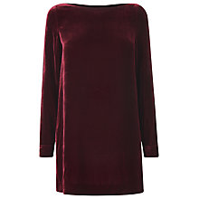 Buy L.K. Bennett Charlie Velvet Top Online at johnlewis.com