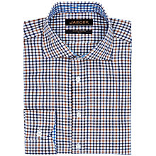 Buy Jaeger Herringbone Check Slim Shirt Online at johnlewis.com
