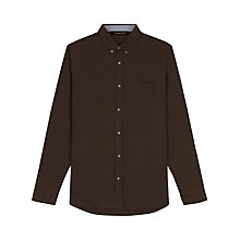 Buy Jaeger Cotton Flannel Shirt Online at johnlewis.com
