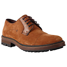 Buy Ted Baker Klone Derby Shoes, Tan Online at johnlewis.com