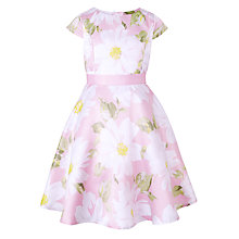 Buy John Lewis Heirloom Collection Girls' Large Floral Dress, Pink Online at johnlewis.com