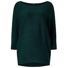 Buy Phase Eight Becca Batwing Jumper, Forest Online at johnlewis.com