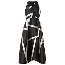 Buy L.K. Bennett Aine Maxi Stripe Dress, Black/Cream Online at johnlewis.com