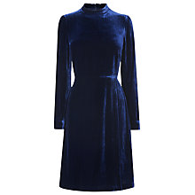Buy L.K. Bennett Charlie Velvet Dress Online at johnlewis.com