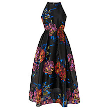 Buy L.K. Bennett Eva Jacquard Dress, Black Online at johnlewis.com