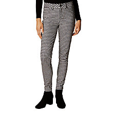 Buy Karen Millen Check Print Jeans, Multicolour Online at johnlewis.com