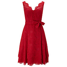 Buy Phase Eight Milly Lace Dress, Scarlet Online at johnlewis.com