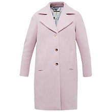 Buy Ted Baker Jakala Oversized Wool Coat, Nude/Pink Online at johnlewis.com