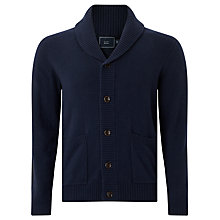 Buy John Lewis Shawl Neck Cardigan, Navy Online at johnlewis.com