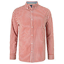 Buy John Lewis Cotton Poplin Gingham Shirt Online at johnlewis.com
