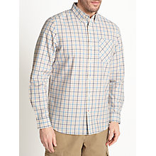 Buy John Lewis Modern Tattersall Check Shirt, Ecru Online at johnlewis.com