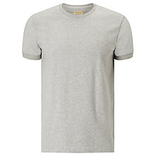 Buy JOHN LEWIS & Co. Heavyweight Jersey Cotton T-Shirt, Grey Marl Online at johnlewis.com