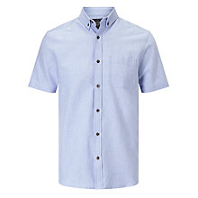 Buy John Lewis Cotton Oxford Short Sleeve Shirt Online at johnlewis.com