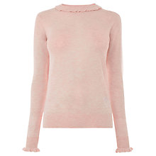 Buy Warehouse Frill Neck And Cuff Jumper Online at johnlewis.com