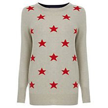 Buy Oasis Star Jumper, Multi Online at johnlewis.com