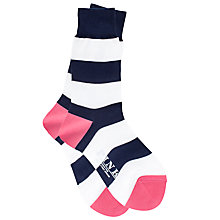 Buy Thomas Pink Rugby Stripe Socks Online at johnlewis.com