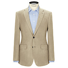 Buy John Lewis Silk Linen Regular Fit Suit Jacket, Stone Online at johnlewis.com