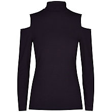 Buy Jaeger Jersey Cold Shoulder Top Online at johnlewis.com
