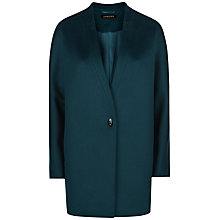 Buy Jaeger Wool Turn-Back Lapel Cocoon Coat Online at johnlewis.com