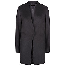 Buy Jaeger Wool & Cashmere Coat, Charcoal Online at johnlewis.com