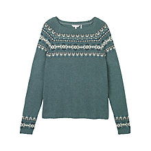 Buy Fat Face Yoke Pattern Jumper Online at johnlewis.com