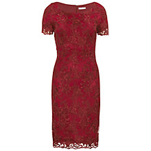 Buy Gina Bacconi Embroidered Oriental Floral Dress Online at johnlewis.com