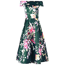 Buy Jolie Moi Floral Bardot Neck Prom Dress Online at johnlewis.com