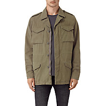 Buy AllSaints Bale Jacket, Khaki Green Online at johnlewis.com