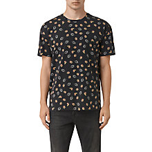 Buy AllSaints Autumn Short Sleeve T-Shirt, Vintage Black Online at johnlewis.com