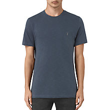 Buy AllSaints Soul Crew T-shirt, Workers Blue Online at johnlewis.com