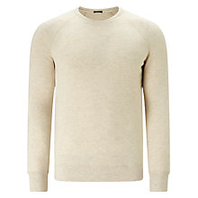 Buy Denham JV Raglan Sleeve Crew Neck Stretch Cotton Jumper CFJ Online at johnlewis.com