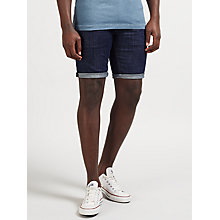 Buy Denham Razor Denim Shorts, Indigo Online at johnlewis.com