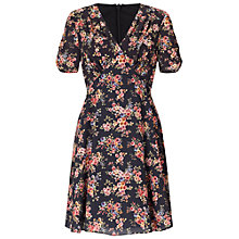 Buy Miss Selfridge Floral Tea Dress, Multi Online at johnlewis.com