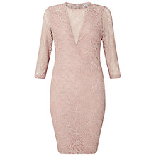Buy Miss Selfridge Lace Bodycon Dress, Multi Online at johnlewis.com