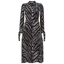Buy Finery Linnet Graphic Cat Contrast Dress, Multi Online at johnlewis.com