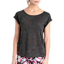 Buy Lolë Bethany Yoga T-Shirt, Black Online at johnlewis.com