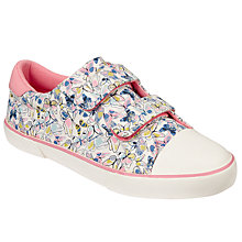 Buy John Lewis Children's Ellie Butterfly Double Rip-Tape Trainers, Multi Online at johnlewis.com