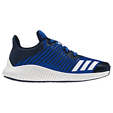 Buy Adidas Children's FortaRun Lace Up Trainers, Collegiate Royal Blue Online at johnlewis.com