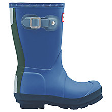 Buy Hunter Children's Contrast Original Wellington Boots Online at johnlewis.com