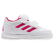 Buy Adidas Junior Alta Sport CF Rip Tape Trainers Online at johnlewis.com