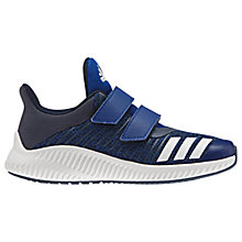 Buy Adidas Children's FortaRun Double Riptape Trainers, Collegiate Royal Blue Online at johnlewis.com