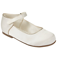 Buy John Lewis Children's Luna Shoes, Ivory Online at johnlewis.com