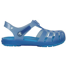 Buy Crocs Children's Isabella Sandals, Blue Online at johnlewis.com