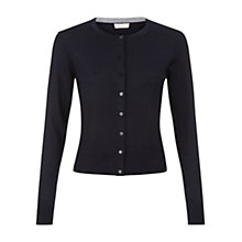 Buy Hobbs Marley Cardigan, Black Online at johnlewis.com