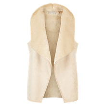 Buy Hobbs Irah Gilet, Natural Online at johnlewis.com