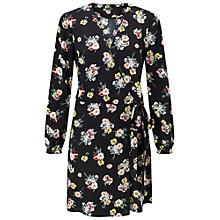 Buy Miss Selfridge Floral Wrap Belt Dress, Multi Online at johnlewis.com