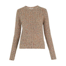 Buy Whistles Donegal Ribbed Jumper, Multi Online at johnlewis.com