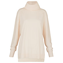 Buy Whistles Cashmere Cowl Neck Jumper, Ivory Online at johnlewis.com
